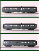 LS Models 40324 Express Nord Coach Pack